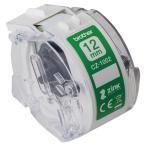 感熱カラーラベルプリンター用ロールカセット(幅12mm/長さ5m) CZ-1002