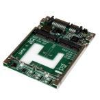 StarTech デュアルmSATA SSD - 2.5インチ SATA変換アダプタ基板(RAID対応) 25SAT22MSAT
