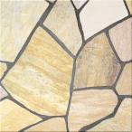 アルビノイエロー 乱形石材 1ケース(0.5m2)