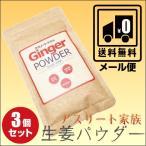 アスリート家族 長崎県産 生姜パウダー 30g 3袋セット 送料無料