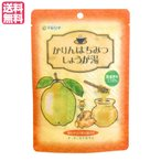生姜湯 しょうが湯 生姜茶 かりんはちみつしょうが湯 1袋(12g×5) マルシマ 送料無料