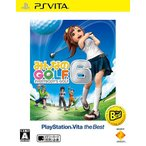 【新品】【取寄せ商品】PSVita ザ・ベスト みんなのGOLF6(みんなのゴルフ6)