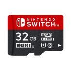 【新品】Switch microSDカード for Nintendo Switch 32GB(マイクロSDカード32GB)(任天堂ライセンス商品)