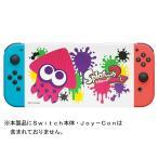 【新品】Switch Nintendo Switch専用スタンド付きカバー スプラトゥーン2イカ(ネコポス便・メール便配送不可)(2017年9月発売)