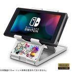 Switch プレイスタンド for Nintendo Switch スプラトゥーン2(ネコポス便配送不可)(2019年3月28日発売)【新品】