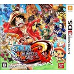 3DS ワンピース アンリミテッドワールドR【新品】■