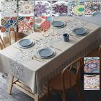 テーブルクロス テーブルクロス 食卓カバー プレゼント テーブルカバー 食卓 カバー 長方形正方形 シンプル 花柄  各サイズ 北欧風