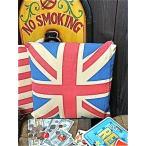 アメリカン雑貨 フラッグ レトロ クッション UK イギリス-AK0004-