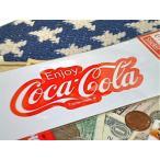 アメリカン雑貨 コカコーラ グッズ ステッカー 80年代 ロゴ-HS0189
