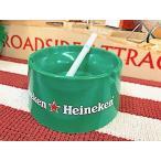 アメリカン雑貨 灰皿 アッシュトレイ Heineken ハイネケン Beer ビール パブ バー グッズ 店舗 ガレージ