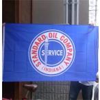 アメリカン雑貨★アメリカン フラッグ 旗 STANDARD OIL タペストリー ポスター-LC0032