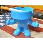 アメリカン雑貨★おもしろ雑貨 ユニーク雑貨 アッシュトレイマン BLUE 灰皿 アッシュトレイ-TY0055