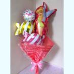 ディズニー バルーン 誕生日 ティンカーベル 花束 バースデー プレゼント ギフト アレンジメント