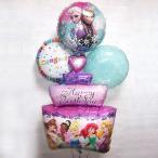ディズニー  誕生日プレゼント バルーン アナと雪の女王 プリンセス 誕生日 カップケーキ プレゼント 記念日
