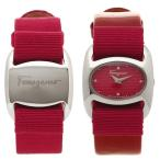 フェラガモ 腕時計 レディース 替えベルト付き Salvatore Ferragamo FIE010015 レッド