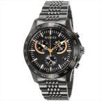 グッチ 時計 メンズ GUCCI YA126260 G-TIMELESS 腕時計 ウォッチ ブラック/ブラック