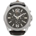 ポリス 腕時計 POLICE PL14104 JS/02 ブラック シルバー