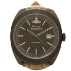ヴィヴィアンウエストウッド メンズ腕時計 VIVIENNE WESTWOOD VV136BKBG ブラック ベージュ