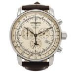 ツェッペリン 時計 メンズ ZEPPELIN 76801N SPECIAL EDITION100YEARS クォーツ 腕時計 ウォッチ ブラウン/シルバー