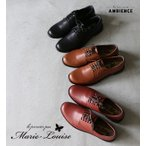 Marie Louise  マリエ・ルイーズ  レザー レースアップ シューズ レディース 送料無料 プレーントゥ 牛革 革靴