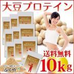 大豆プロテイン 10kg (1kg×10袋)  ( ソイプロテイン ) 大豆レシチン プロテインダイエット プロティン セール