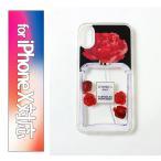 正規 送料無料 IPHORIA アイフォリア Liquid Case for Apple iPhone X - Parfum Flower Red ケース カバー 18SS新作
