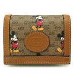 グッチ カードケース レディース 602534 HWUBM 8559 財布 コイン/紙幣入れ付き 名刺入れ DISNEY×GUCCI ディズニー×グッチ コラボ GG ミッキーマウス