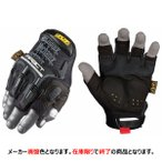 MECHANIX WEAR メカニクスウェア M-PACT FINGERLESS MFL-05 BLACK M/L メカニックグローブ (車 バイク サバイバルゲームに)