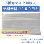 3層不織布マスク 10枚 業務用 送料無料 ポイント消化
