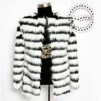 毛皮コート ファーコート メンズ ショットコート フォクス フェイクファー おしゃれ 上着 暖かい 秋冬 防寒 高級素材 メンズファッション