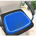 ジェルクッション サポートクッション 座布団 腰痛 体圧分散 ゲルクッション デスクワーク ドライブ 座椅子 座り仕事 ハニカム構造カバー付き クッション