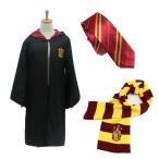 コスプレ 衣装 ハリーポッター Harry Potter Mサイズ グリフィンドール お得な三点セット ローブ ネクタイ マフラー
