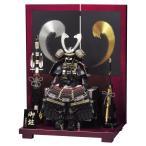 五月人形 豊久 鎧平飾り 鎧飾り 牙狼 10号 h265-mo-501871