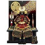 五月人形 徳川家康 鎧収納飾り 鎧飾り 一龍作 徳川鎧 彫金仕様 10号 会津塗 h295-mm-078