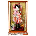 京香 絞り刺繍振袖 手描面相本押絵仕立 17号 花梨塗