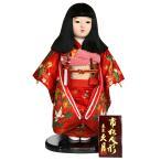 雛人形 久月 市松人形 金彩友禅