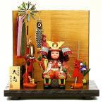 五月人形 真多呂 子供大将飾り 武者人形 木目込人形飾り 真多呂作 大志 h295-mtk-3562-041