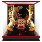 五月人形 真田幸村 着用 兜ケース飾り 兜飾り 藤翁作 着用真田S型 アクリルケース h025-fn-205-704