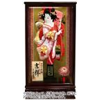 吉祥 新鹿の子桜刺繍 オリジナル面相 13号 花梨塗