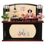 雛人形 久月 ひな人形 コンパクト収納飾り 親王飾り 束帯十二単 小三五 吉祥鶴紋 金襴 h293-kcp-s29176