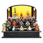 雛人形 真多呂 ひな人形 雛 木目込人形飾り 三段飾り 十五人飾り 真多呂作 古今段飾り 本金 皇紀雛 正絹 伝統的工芸品 h313-mt-1322