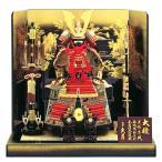 正絹赤糸褄取縅 8号 大鎧飾り