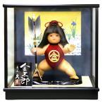 五月人形 久月 金太郎 ケース飾り 浮世人形 裸金太 矢の根 7号 都印706 h295-k-toin706-110 K-151