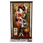 吉祥 鶴寿 松に鶴 刺繍振袖 オリジナル面相 18号 木製