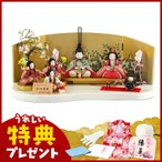 雛人形 柿沼東光 ひな人形 雛 木目込人形飾り 五人飾り 江戸木目込人形 ひなもも h303-mi-kt-1874b
