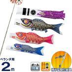 こいのぼり 俊峰 鯉のぼり ベランダ用 2m ホームセット 格子A型金具 ニューGDX 紫雲龍吹流し 家紋・名前入れ可能 trm-520462