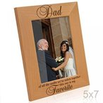 Kate Posh - Daddy - Of all the walks we've taken together, this one is my Favorite - Wood Picture Frame 正規輸入品