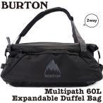 ショッピングダッフル BURTON バートン ダッフルバッグ リュック Multipath Duffle Bag 60L+