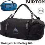 ショッピングダッフル BURTON バートン ダッフルバッグ リュック Multipath Duffle Bag 90L