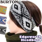 イヤーマフ BURTON バートン Edgeworth Headband エッジワース ヘッドバンド